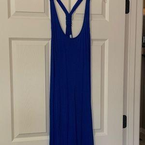 Old Navy Royal Blue Racerback Dress